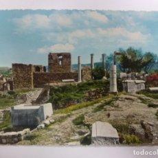 Postales: POSTAL. LÍBANO. LIBAN. LES RUINES DE BYBLOS. LEBANON. THE RUINS OF BYBLOS. ESCRITA. . Lote 182166091