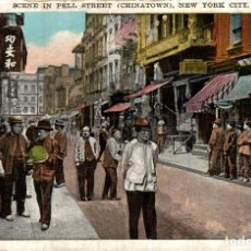 Postais: SCENE IN PELL STREET, CHINATOWN. Lote 182552317