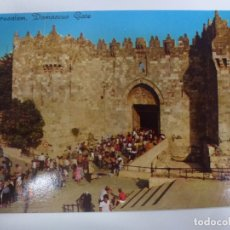 Postales: POSTAL. JERUSALEM, DAMASCUS GATE. 1034. STAR CARDS. NO ESCRITA. . Lote 182962581