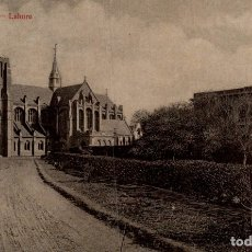Postales: THE CATHEDRAL LAHORE INDIA ASIA. Lote 182969582