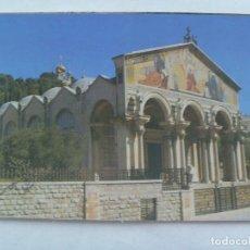 Postales: POSTAL DE JERUSALEM ( ISRAEL ): IGLESIA DE GETHSEMANIE. Lote 183193718
