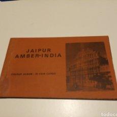 Postales: JAIPUR ÁMBER INDIA. Lote 183342582