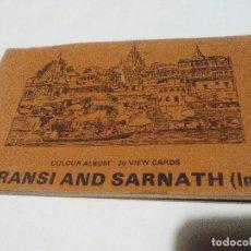 Postales: POSTALES ANTIGUAS DE VARANASI Y SARNATH, INDIA.. Lote 183593875