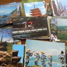 Postales: LOTE 200 POSTALES DE JAPÓN. AÑOS 60-70. Lote 186070600