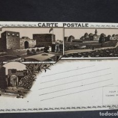 Postales: TARJETA POSTAL DE JERUSALEN. LA TOUR DE DAVID. MONT ZION. VIA DOLOROSA.. Lote 190119882