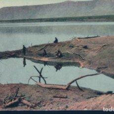 Postales: POSTAL TOTES MEER - LA MER MORTEDEAD SEA - MEPTBOE MOPE - EL MAR MUERTO. Lote 190798685