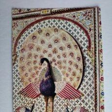 Postales: POSTAL INDIA UDAIPUR BRILLANT MOSAICS PEACOCKS MOSAICO PAVO REAL. Lote 191530431