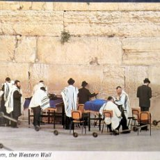 Postales: JERUSALEM, THE WESTERN WALL. NUEVA. COLOR. Lote 194110878
