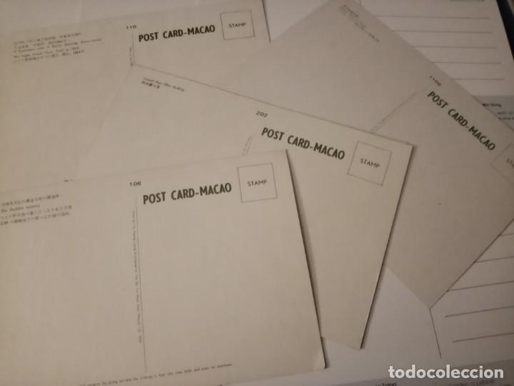 Postales: Postales Macao. A partir 1960. No Circuladas. Lote de 34 - Foto 7 - 194155406