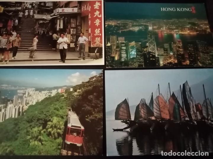 Postales: Postales Hong Kong. No Circuladas. Lote de 16 - Foto 2 - 194157201