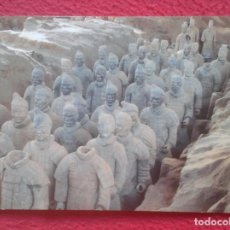 Postales: POSTAL POST CARD CHINA CHINE TERRACOTTA ARMY GUERREROS EJÉRCITO SOLDADOS SOLDIERS DE TERRACOTA....... Lote 195099217