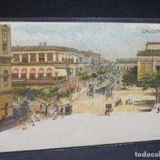 Postales: TARJETA POSTAL DE LA INDIA. CALCUTA.. Lote 195713102