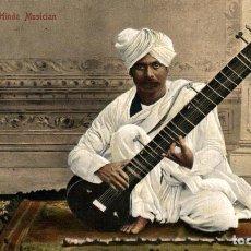 Cartes Postales: INDIA INDE. HINDU MUSICIAN. Lote 195797500