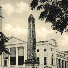 Postais: SINGAPUR SINGAPORE. RAFFLES HOTEL AND OBELISK. Lote 195916842