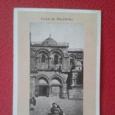 Postales: POSTAL VUES DE PALESTINE VISTAS PALESTINA VIEWS JERUSALEM SEPULCRO CHOCOLATERIE D´AIGUEBELLE VER..... Lote 198326953