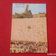 Postales: POSTAL POST CARD ISRAEL JERUSALÉN THE WESTERN WALL TIERRA SANTA MURO DE LAS LAMENTACIONES WAILING.... Lote 198327440