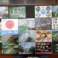 Postales: JAPÓN LIBRO CON 14 POSTALES, MÁS 2 CIRCULADAS. Lote 198467843