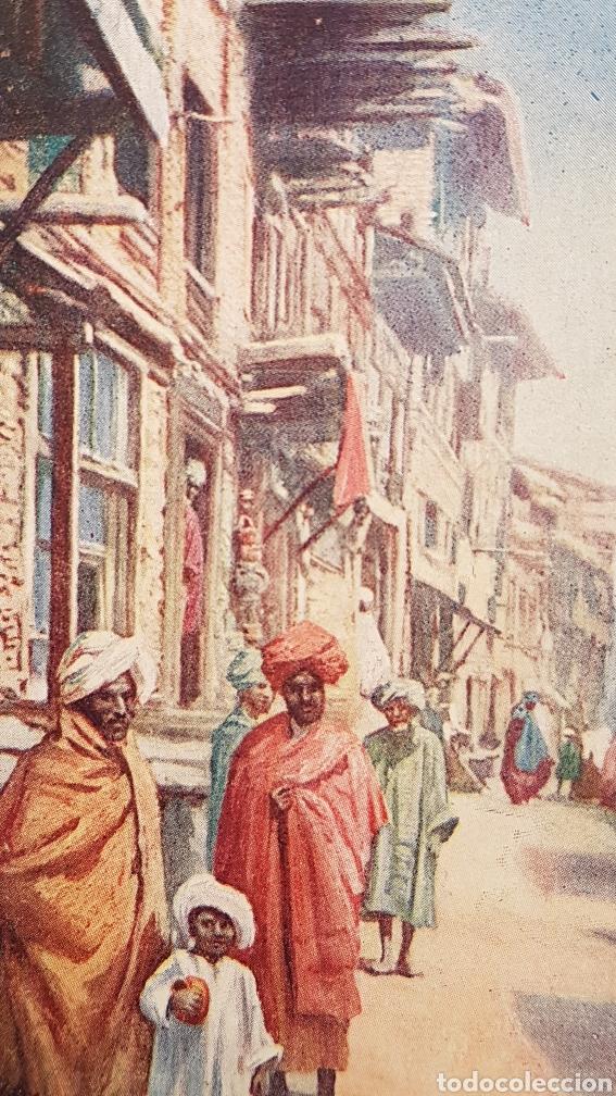 Postales: Postal Nativos de la India, Edit. por Raphael Tuck & Sons, Londres. Oilette. Sin circular. - Foto 2 - 200136050