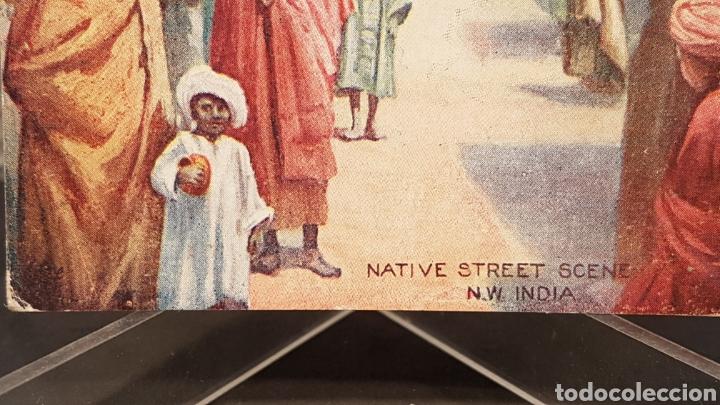 Postales: Postal Nativos de la India, Edit. por Raphael Tuck & Sons, Londres. Oilette. Sin circular. - Foto 3 - 200136050