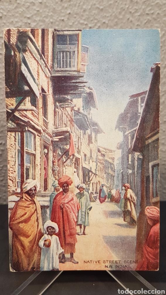 POSTAL NATIVOS DE LA INDIA, EDIT. POR RAPHAEL TUCK & SONS, LONDRES. OILETTE. SIN CIRCULAR. (Postales - Postales Extranjero - Asia)