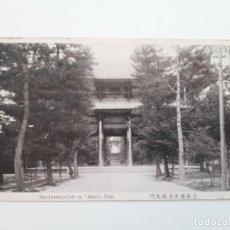 Postales: NANDAIMON-GATE IN TODAIJI, NARA, JAPÓN, POSTAL 0076. Lote 200731238