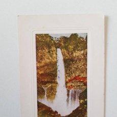 Postales: KEGA FALL AT NIKKO SHIMOZUKA, JAPÓN, POSTAL 0087. Lote 200731280