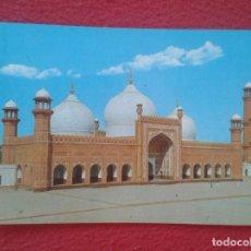 Postales: POST CARD PAKISTAN HISTORICAL BADSHAHI MOSQUE MEZQUITA LAHORE MOSQUÉE VER FOTOS Y DESCRIPCIÓN........ Lote 203226850