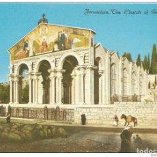 Postales: == C447 - POSTAL - JERUSALEM - THE CHURCH OF GETHSEMANE. Lote 205339821
