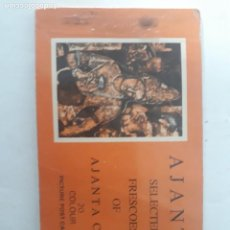 Postales: LIBRITO POSTALES, AJANTA SELETED FRESCOES OF AJANTA CAVES,. Lote 206517411