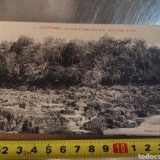 Postales: POSTAL Nº17 LA CONCHINCHINE. LES CHUTES DE TRIAN. PUJADE DE LADEVERE.. Lote 206842060