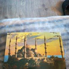 Postales: POSTAL TURQUÍA ISTANBUL SULTAN AHMET CAMII THE BLUE MOSQUE 1986. Lote 207195812