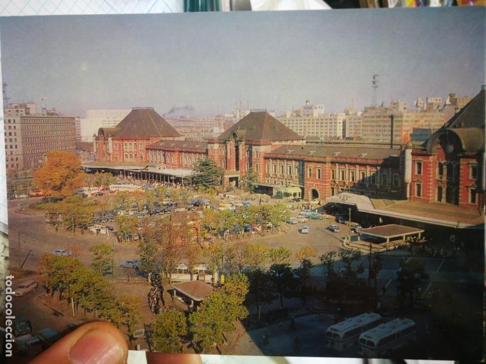 POSTAL JAPÓN TOKIO ESTACIÓN CENTRAL S/C (Postales - Postales Extranjero - Asia)