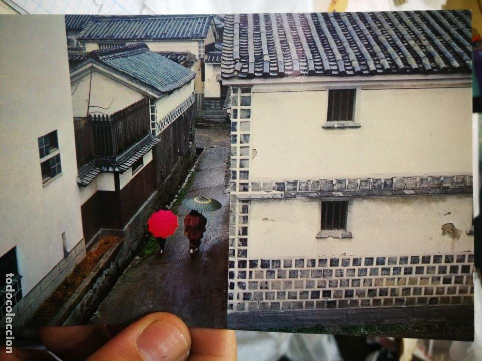 POSTAL JAPÓN A ROW OF OLD HOUSE UN THE RAIN SHOWER KURASHIKI S/C (Postales - Postales Extranjero - Asia)