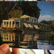 Postales: POSTAL INDIA A HOUSE BOAT ON THE MAGÍN LAKE SRINAGAR KASHMIR S/C. Lote 209134866