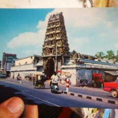 Postales: POSTAL SINGAPUR AN INDIAN TEMPLE S/C. Lote 210942227