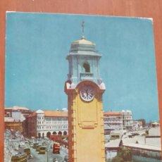Postales: CP-130 COLOMBO SRI LANKA KHAN CLOCK TOWER COCHES ESCARABAJO BEETLE VOLKSWAGEM VW. Lote 211593051