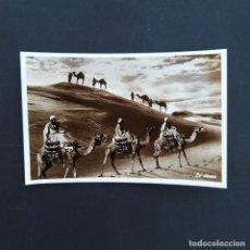 Postales: ANTIGUA POSTAL FOTOGRÁFICA BEIRUT EL DESIERTO (P112). Lote 212217466
