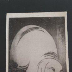 Postales: ESPECTACULAR POSTAL ANTIGUA ELEFANTE BLANCO DE TAWARAYA SOTATSU (SXVII) TEMPLO YOGENIN KYOTO JAPÓN. Lote 214673465
