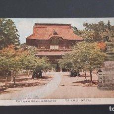 Postales: POSTAL ANTIGUA TEMPLO KENCHOJI KAMAKURA JAPÓN ED. HOEIDO P380. Lote 214756895