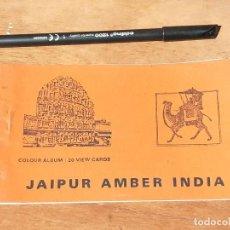Postales: TACO DE 20 POSTALES DE JAIPUR AMBER INDIA. AÑOS 50.. Lote 214812261