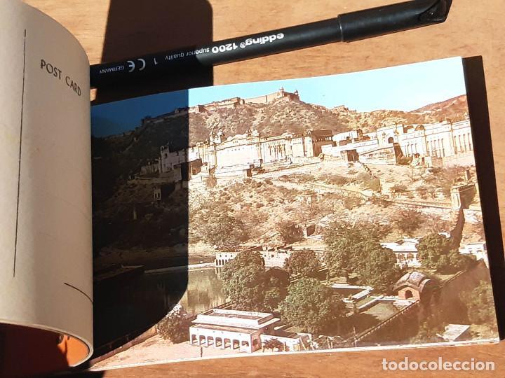 Postales: Taco de 20 postales de Jaipur Amber India. Años 50. - Foto 3 - 214812261