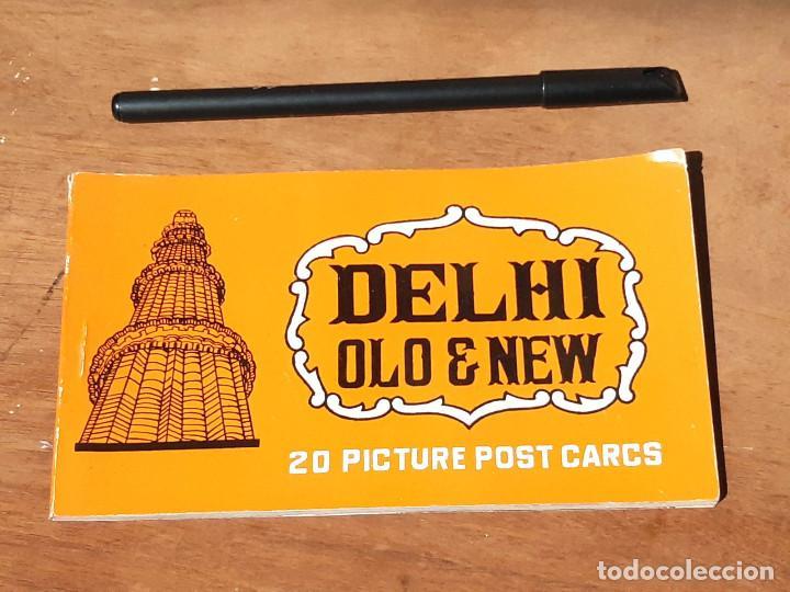 TACO DE 20 POSTALES DE DELHI OLD & NEW. INDIA. AÑOS 60. (Postales - Postales Extranjero - Asia)