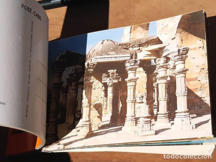 Postales: Taco de 20 postales de Delhi Old & New. India. Años 60. - Foto 3 - 214812387