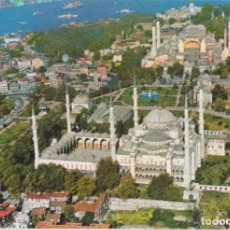 Postales: TURQUIA, ESTAMBUL, MEZQUITA AZUL – KARTPOSTAL 34 – CIRCULADA. Lote 218393365