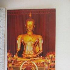 Postales: POSTAL. THE GOLDEN BUDDHA OR SUKHOTHAI. SIN CIRCULAR. POST CARD. Lote 218711747