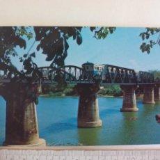 Postales: POSTAL.THE BRIDGE ON THE RIVER KWAI A 41. THAILAND. TAILANDIA. SIN CIRCULAR. POST CARD. Lote 218712022