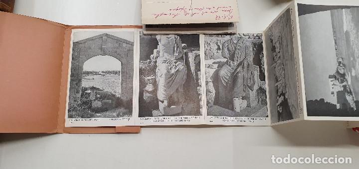 Postales: Tira de 10 postales Cesárea Israel. Años 60. Magnifica calidad. - Foto 2 - 219105312