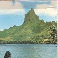 Postales: FRANCIA & POLINESIA FRANCESA, TAHITI, MOOREA, PLAYA PAO PAO, PAPEETE TO KREFELD ALEMANIA 1962 (2). Lote 220916973