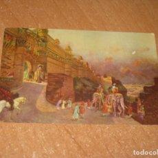 Postales: POSTAL DE LA INDIA. Lote 221413806