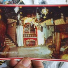 Postales: POSTAL BELÉN BETHLEHEM GROTTO THE NATIVIDAD S/C. Lote 221804791